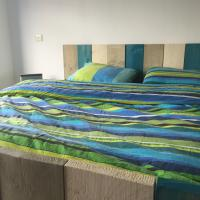 Bed steigerhout opgemaakt 3